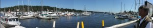 Ganges Harbour, Saltspring Island, British Columbia, Canada